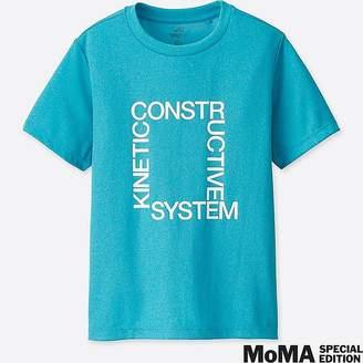Uniqlo Kid's Sprz Ny Dry-ex Short-sleeve T-Shirt (experimental Jetset)