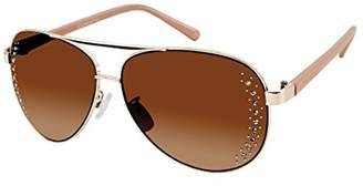 Southpole Women's 449sp-Gldm Aviator Sunglasses