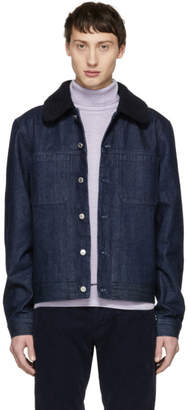 A.P.C. Indigo Denim Michigan Jacket