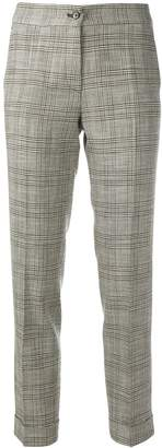 Etro prince of wales check trousers
