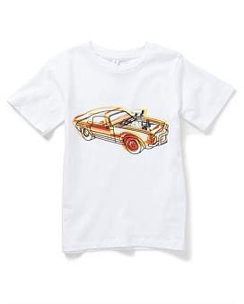 Stella McCartney Arlo Car Tee (2-8Years)
