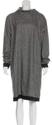 Tome Wool-Blend Long Sleeve Midi Dress w/ Tags