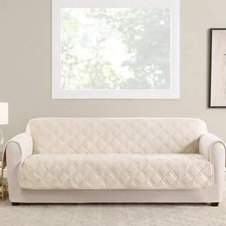Sure Fit Triple Protection FC Box Cushion Sofa Slipcover