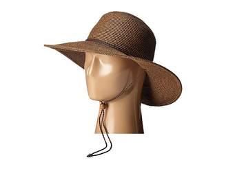 San Diego Hat Company UBM4453 4 Inch Brim Sun Hat with Twisted Adjustable Chin Cord