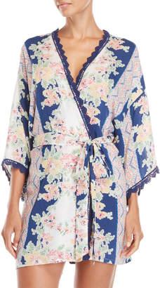 In Bloom Country Fair Printed Robe