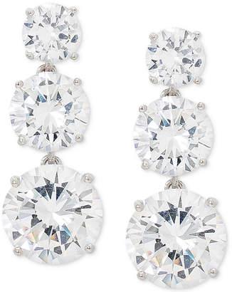 Giani Bernini Cubic Zirconia Graduated Drop Earrings in Sterling Silver