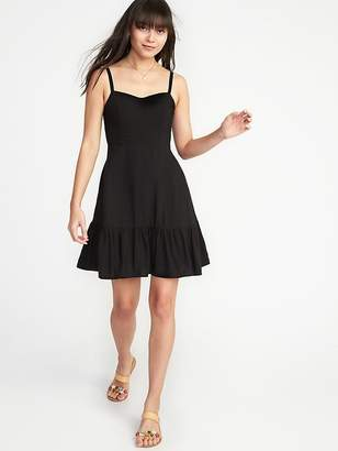 Old Navy Fit & Flare Tiered Cami Dress for Women