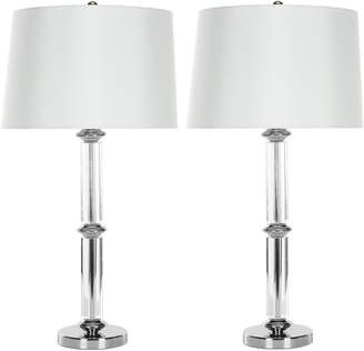 Safavieh Set Of 2 29.5In Vendome Table Lamps