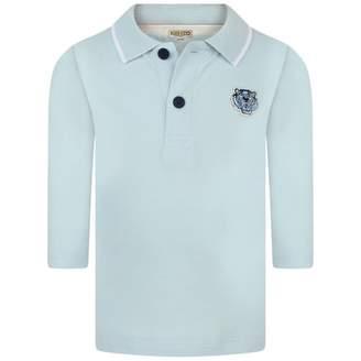 Kenzo KidsBaby Boys Blue Polo Shirt