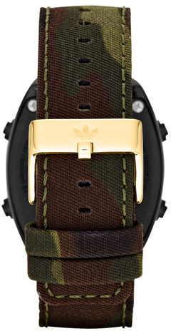 adidas 'Sydney' Digital Camo Strap Watch