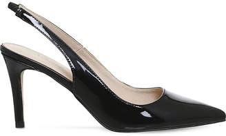 Office Mister patent slingback courts