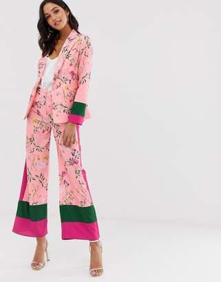 UNIQUE21 color block pants