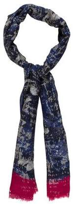 Yigal Azrouel Abstract Print Stole