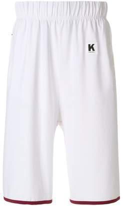 Kappa Kontroll logo stripe sports shorts