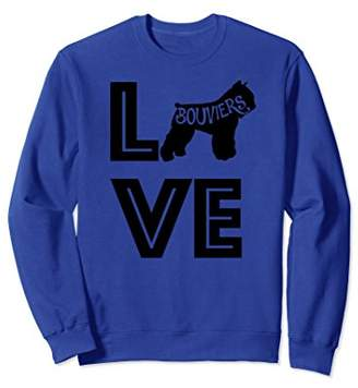 Cute & Funny Bouvier Dog | Pet Lover Gift Sweatshirt G002407