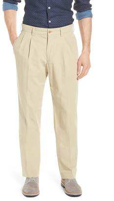 Bills Khakis Classic Fit Pleated Tropical Poplin Pants