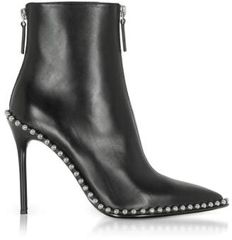 Alexander Wang Eri Black Leather Boots