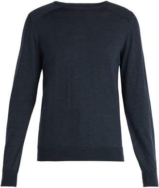 Oliver Spencer Blade crew-neck merino wool sweater