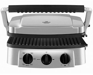 Sharper Image 8147 Super Grill, Stainless Steel