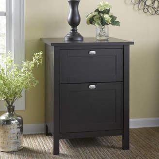 Three Posts Reavis 2 Drawer Vertical Filing Cabinet