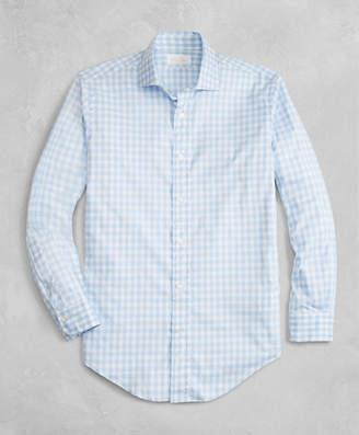 Brooks Brothers Golden Fleece Regent Fit Gingham Flannel Sport Shirt