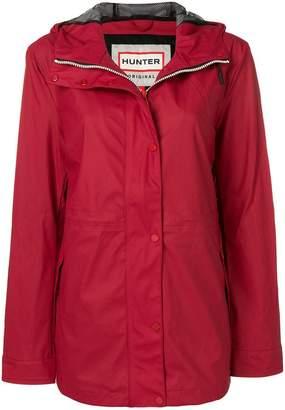 Hunter hooded waterproof jacket