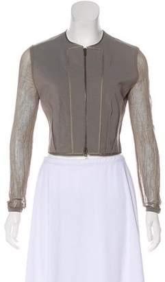 Stella McCartney Long Sleeve Zip-Up Top
