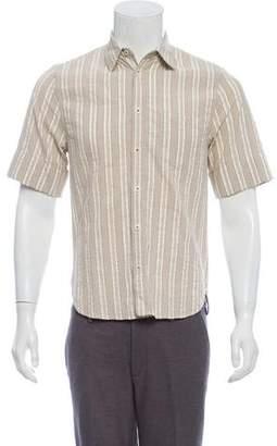 Marc Jacobs Striped Short-Sleeve Shirt