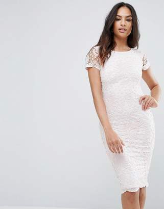AX Paris Lace Insert Midi Dress