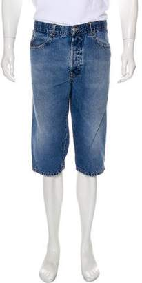 Jean Paul Gaultier Five-Pocket Denim Shorts