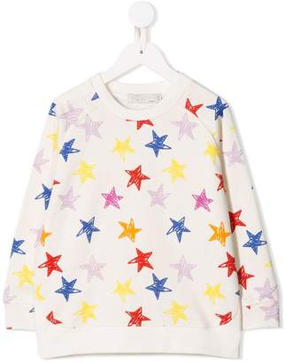 Stella McCartney stars print sweatshirt