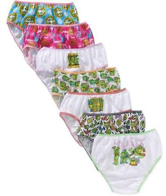 Teenage Mutant Ninja Turtles Teenage Mutant Ninja Turtle Girls' Underwear, 7 Pack Panties (Little Girls & Big Girls)