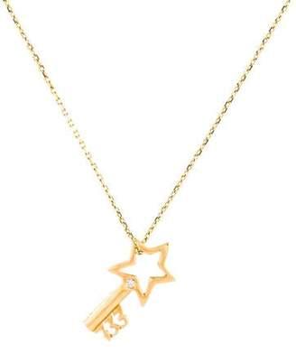 8bf421ed96 Diamond Key Pendant Necklace - ShopStyle