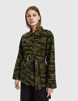 Pswl Belted Camo Jacket