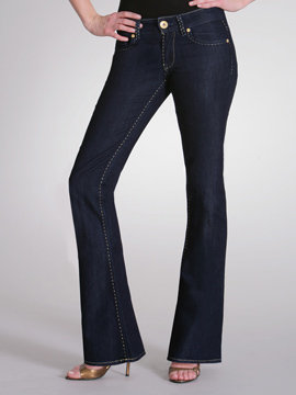 Lurex Stitch Jean