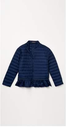 J.Mclaughlin Girls' Meribel Ruffle Down Jacket