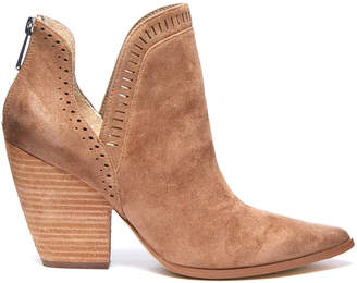 Charles David Nicola Perforated Cut Out Heel Bootie