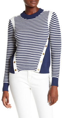 VERONICA BEARD Milou Ottoman Mock Neck Sweater $495 thestylecure.com