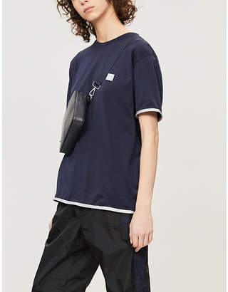 Acne Studios Elmo face-patch cotton-jersey T-shirt