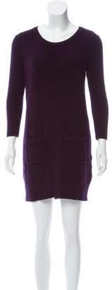 Rag & Bone Merino Wool Long Sleeve Dress
