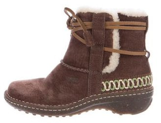 UGG Australia Cova Alpine Ankle Boots $80 thestylecure.com