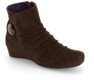 VANELi 'Mandly' Pleated Button Bootie (Women) $219.95 thestylecure.com