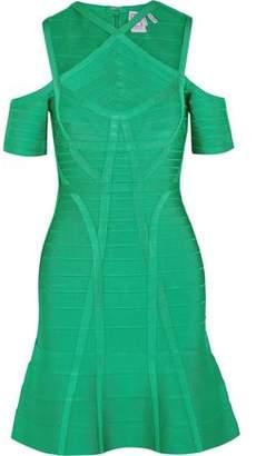Herve Leger Cutout Bandage Dress