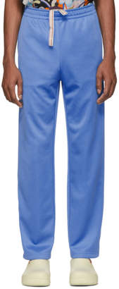 Acne Studios Blue Drawstring Lounge Pants