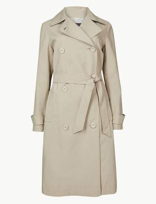 Marks and Spencer Double Breasted Trench Coat
