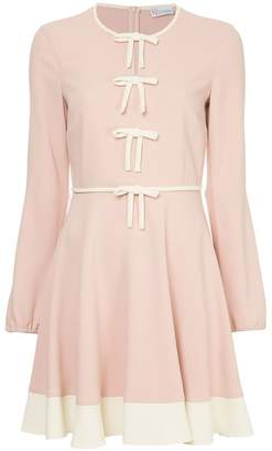 RED Valentino Frisottine bow detail dress
