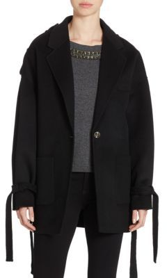 The Kooples Wool Double-sided Coat $625 thestylecure.com