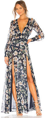The Jetset Diaries Fleur Maxi Dress
