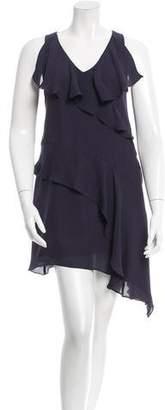 Richard Chai Silk Sleeveless Mini Dress