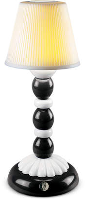 Lladro Palm Firefly Black Table Lamp